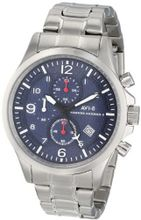 AVI-8 AV-4001-13 Hawker Harrier II Analog Japanese-Quartz Silver