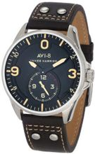 AVI-8 AV-4002-02 Hawker Harrier II Analog Japanese-Quartz Brown
