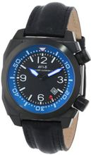 AVI-8 AV-4005-04 Hawker Harrier II Analog Japanese-Quartz Black
