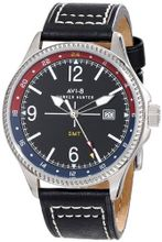 AVI-8 AV-4007-03 Hawker Hunter Analog Swiss-Quartz Black