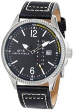 AVI-8 AV-4008-02 Hawker Hunter Analog Japanese-Quartz Black