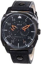 AVI-8 AV-4009-04 Hawker Hunter Analog Japanese-Quartz Black