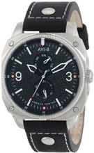 AVI-8 AV-4010-04 Hawker Hunter Analog Japanese-Quartz Black