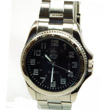 Atm Sport Large Round Black Dial Strap