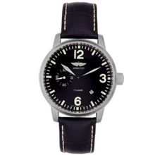 Automatic Black Leather & Dial