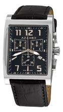 Azzaro AZ1250.12BB.009 Chronograph Black Dial and Strap
