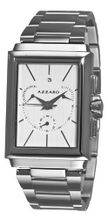Azzaro AZ2061.13AM.000 Legand Rectangular Chronograph White Dial Bracelet