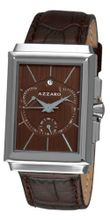 Azzaro AZ2061.13HH.000 Legand Rectangular Chronograph Brown Dial and Strap