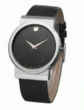 Baidi Unisex-adult BBD-72033B Black Dial + Black Leather Band Fashionable /Simple /Leisure Great for Valentine's Gift