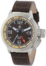Ballast BL-3102-05 Trafalgar Analog Display Swiss Quartz Brown