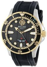 Ballast BL-3114-09 Vanguard Analog Display Swiss Quartz Black