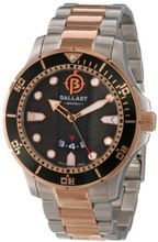 Ballast BL-3114-55 Vanguard Analog Display Swiss Quartz Two Tone