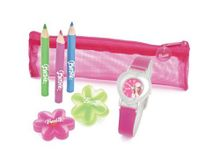 Barbie Girls heart Shaped Pink and Stationery Gift Set BAW0401