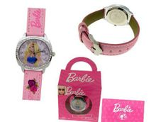 Barbie New with Swarovski Crystals. Pink Band