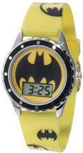 Batman Kids' BAT4071 Printed Silicone Strap Batman