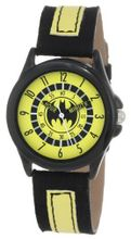 Batman Kids' BAT5003 Black Batman Time Teacher