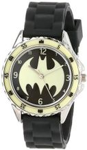 Batman Kids' BAT9004 Analog Display Analog Quartz Black
