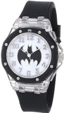 Batman Kids' BAT9015 Batman Flashing Dial Black Strap