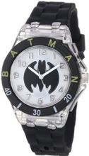 Batman Kids' BAT9078 Black Flashing Dial