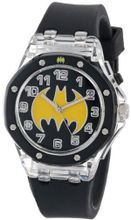 Batman Kids' BAT9114 Analog Display Analog Quartz Black
