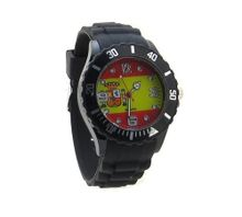 uBC Wear Spain Flag Black Silicone Band