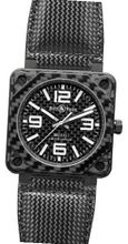 Bell and Ross Aviation Carbon Fiber Black Dial 46 MM Automatic BR-01-92-CARBON-FIBER