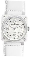 Bell & Ross Aviation Br03-92 Br03-White-Ceramic