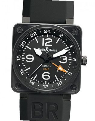 Bell & Ross BR Instrument BR 01-93 24 H GMT
