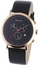Bering Time 10540-462 Black Chronograph