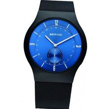 Bering Time 11940-227 Blue and Black Classic