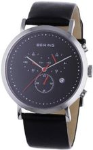 Bering Time 10540-402 Black Chronograph