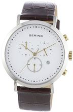 Bering Time 10540-534 Brown Chronograph