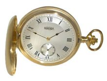 Bernex Mechanical Gold Plate Full Hunter Gents Pocket BN22103