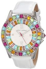 Betsey Johnson BJ00004-18 Analog Multi-Colored Crystals