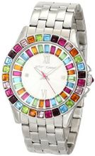 Betsey Johnson BJ00004-30 Analog Display Quartz Silver