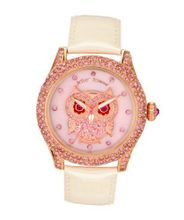 Betsey Johnson BJ00019-17 Analog Owl Dial