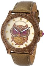 Betsey Johnson BJ00019-57 Analog Owl Graphic Dial
