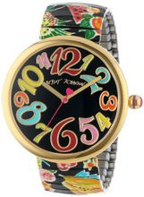 Betsey Johnson BJ00039-25 Analog Printed Fruit Expansion Band