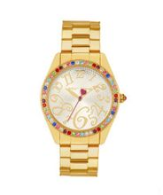 Betsey Johnson BJ00048-57 Ladies Gold Multicolour Stone Set