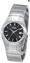 Bill Blass Aero Contour Stainless Steel Black Dial 40444