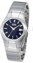 Bill Blass Aero Contour Stainless Steel Blue Dial 40445
