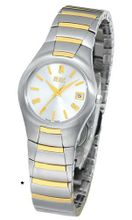 Bill Blass Aero Contour Two-tone Stainless Steel 40441
