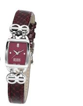 Bill Blass Chelsea Ladies Burgundy Leather Strap 40715