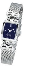 Bill Blass Chelsea Ladies Stainless Steel Blue Dial 40714