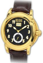 Bill Blass Havana Brown Strap Gold 40225