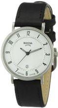 Boccia B3154-06 Ladies Titanium Leather Strap