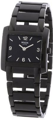 Boccia B3155-05 Ladies Titanium Black IP Bracelet
