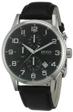 Hugo Boss Black 1512448 Round Black Dial Steel Case Classic