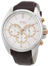 Hugo Boss Brown Leather Strap Chronograph - 1512881