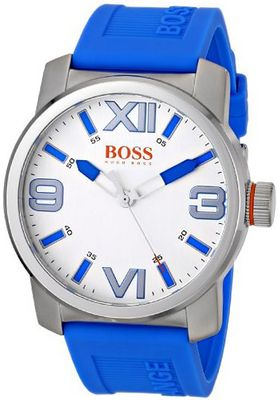 BOSS Orange 1512987 Dubai Analog Display Quartz Blue